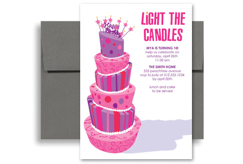 girl birthday invitation template kid 1157 purple girls party birthday ...